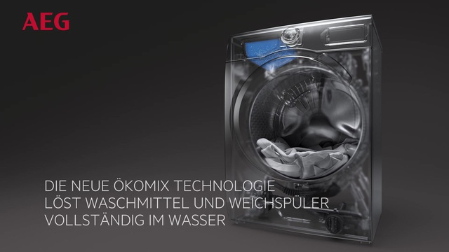 AEG - Waschmaschinen mit ÖKOMix Technologie Video 22