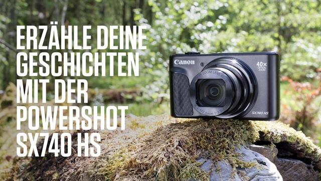 Canon - PowerShot SX 740 Video 3