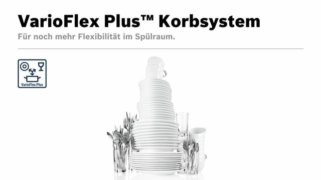 Bosch - VarioFlex Plus Korbsystem Video 7