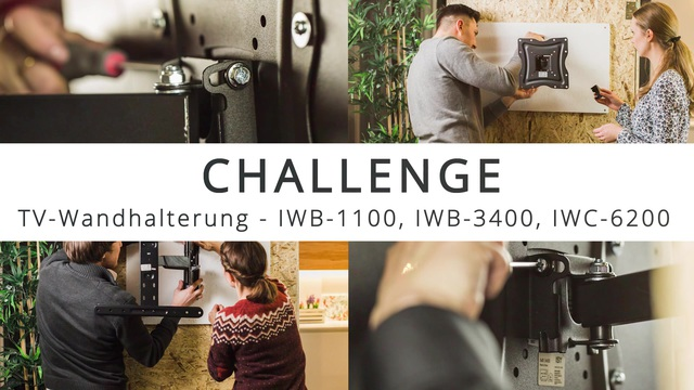 ISY - Challenge: TV-Wandhalterung installieren in 15 Minuten Video 6